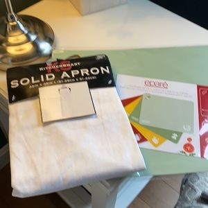 Kitchen Bundle - Cutting Board & White Apron